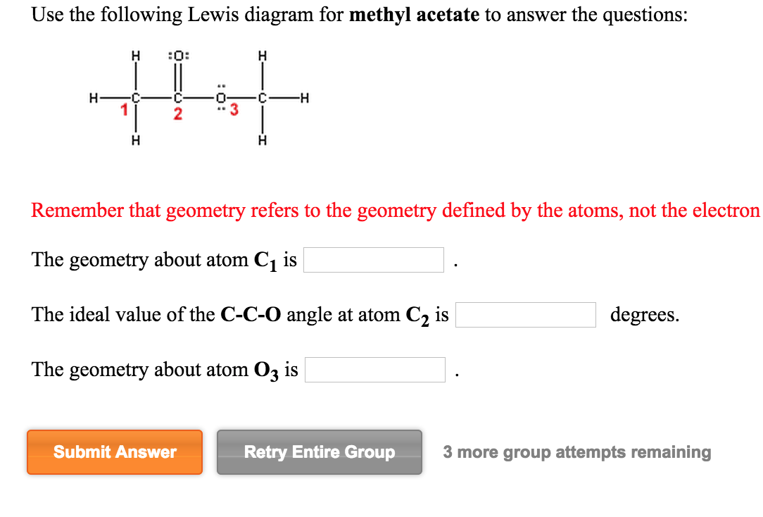 Chemistry archive march 27 2015 chegg image for use the following lewis diagram for methyl acetate to answer the questions remember pooptronica