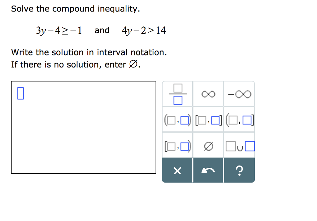 how do you write an inequality notation  slidedocnow