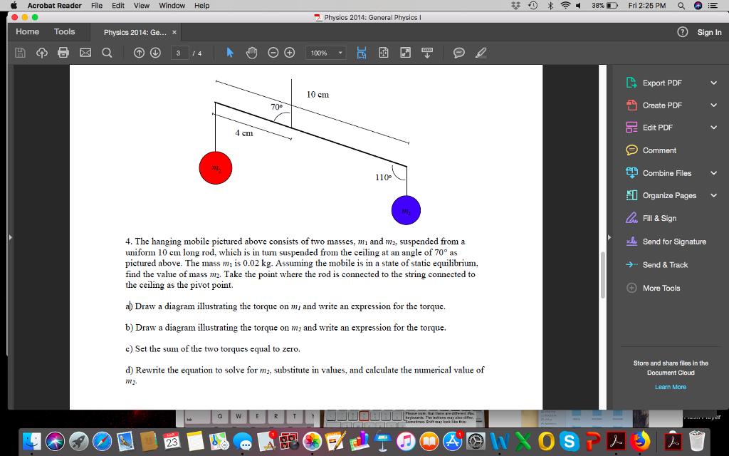 Solved: Acrobat Reader File Edit View Window Help 苷く0凔    | Chegg com