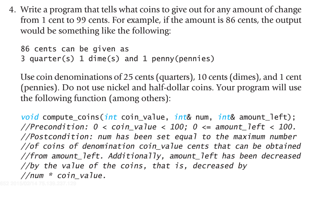 Solved: C++(5-4 Please Make Code Copy And Paste-able, Also