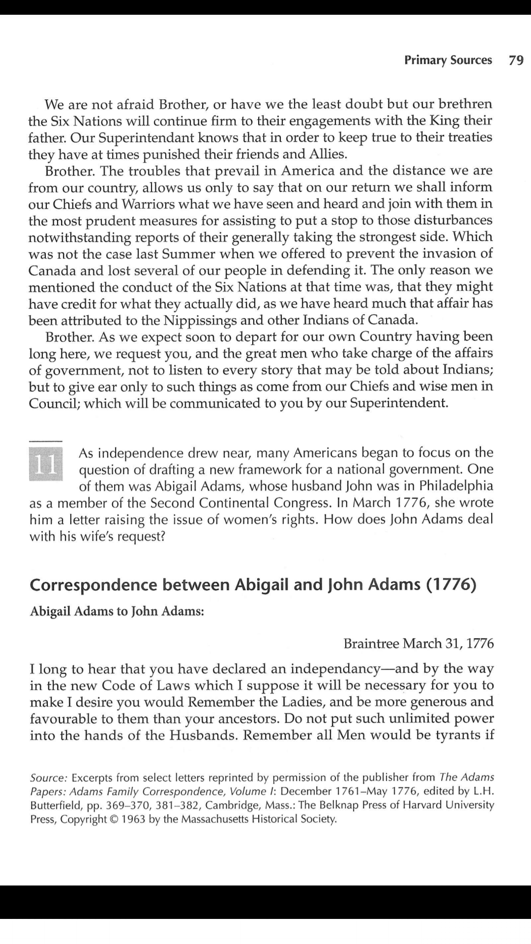 john and abigail adams essay example The letters of john and abigail adams are a refreshing eye-opener in contrast to the stereotypes and expectations of their day after reading the correspondence of john and abigail, a new light is brought upon their relationship and it reveals not only a loving and committed couple, but lets the reader view through a window in an important.
