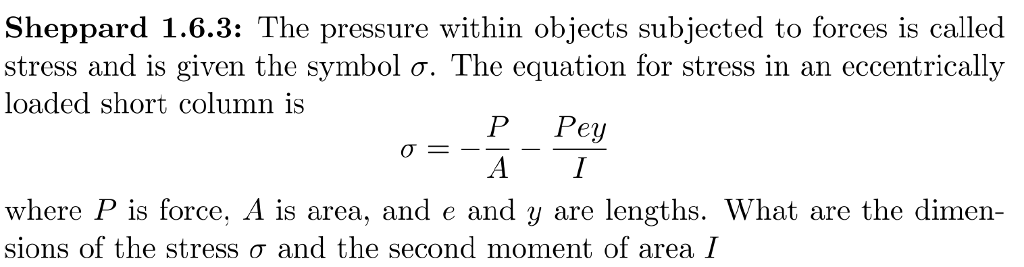 Solved The Pressure Within Objects Subjected To Forces Is