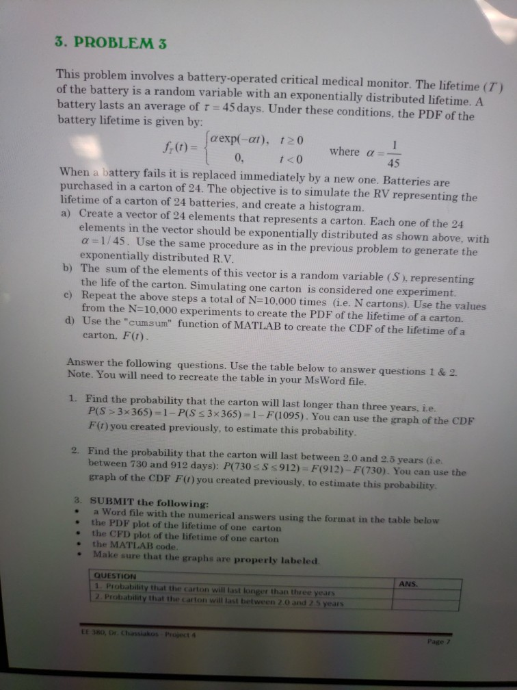 Solved Puter Science Probability And Statistics Need T