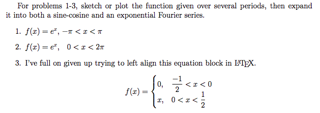 Solved: For Problems 1-3, Sketch Or Plot The Function Give