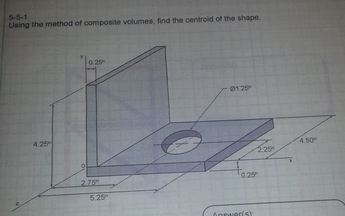 how to find centroid of any shape