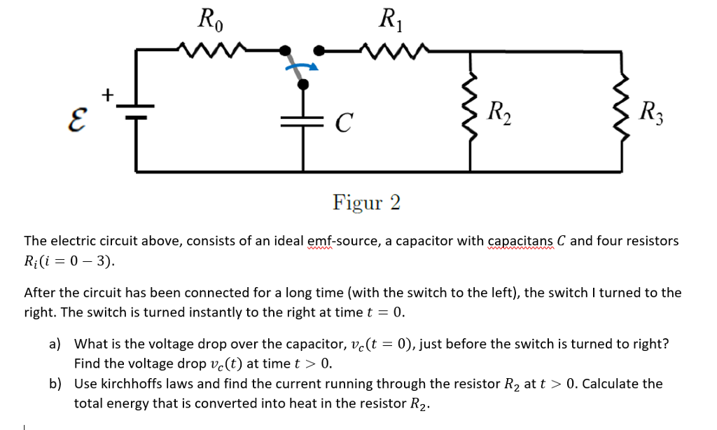 Solved: The Electric Circuit Above, Consists Of An Ideal E ...