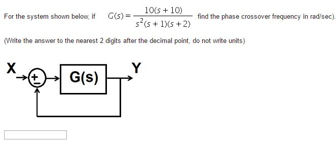 Electrical engineering archive march 16 2017 chegg 10s 10 for the system shown below if gs fandeluxe Choice Image