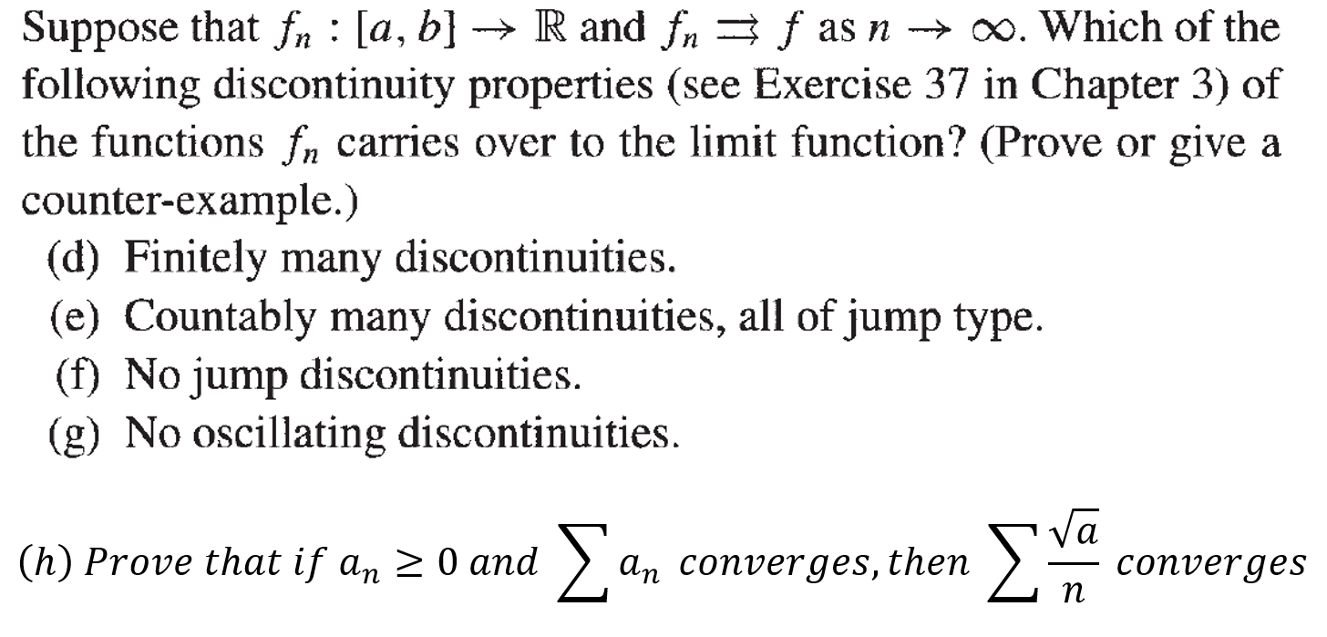 Solved: 23  Real (Mathematical) Analysis  (Charles Pugh, R