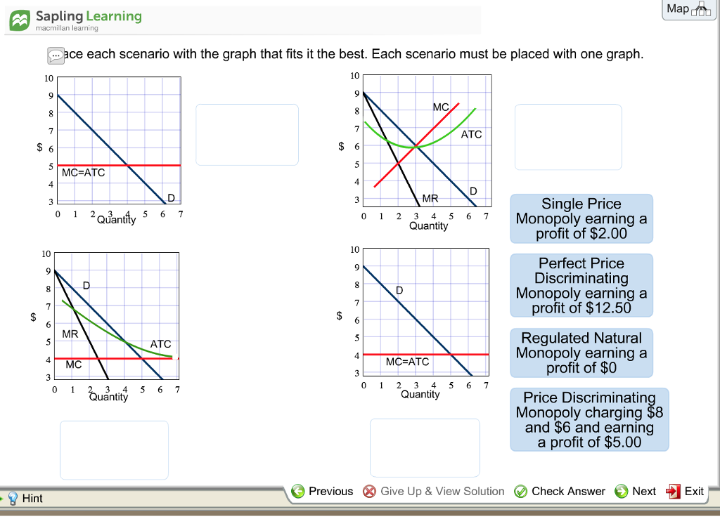 Economics archive march 04 2018 chegg sapling learning map macmillan learning dace each scenario with the graph that fits it the fandeluxe Images