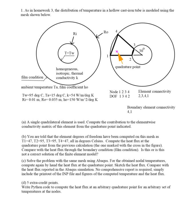 As Ill Homework 3, The Distribution Of Temperature    | Chegg com