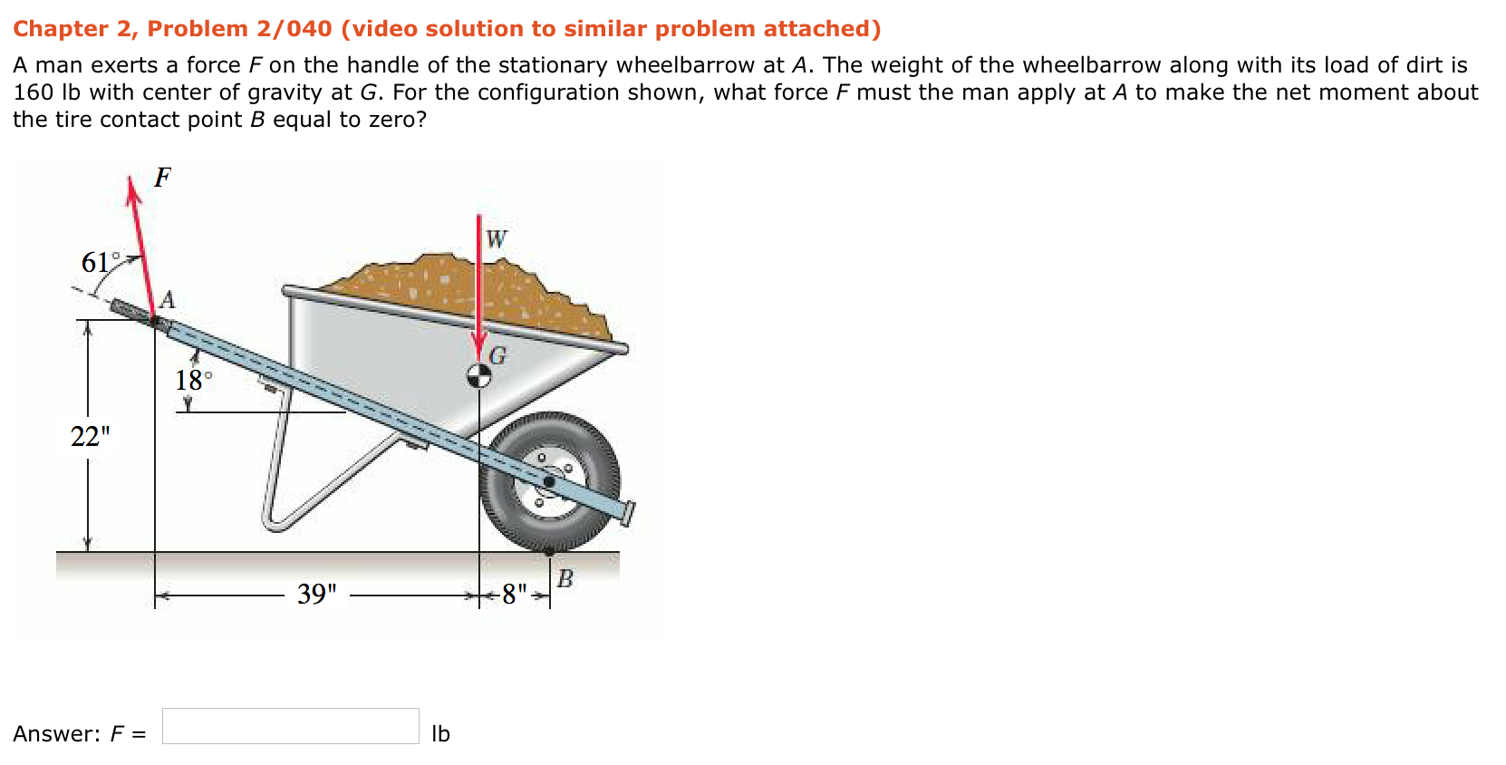 moment of force problems with solution pdf