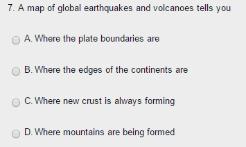 Solved a map of global earthquakes and volcanoes tells yo a map of global earthquakes and volcanoes tells you 7 you a gumiabroncs Image collections