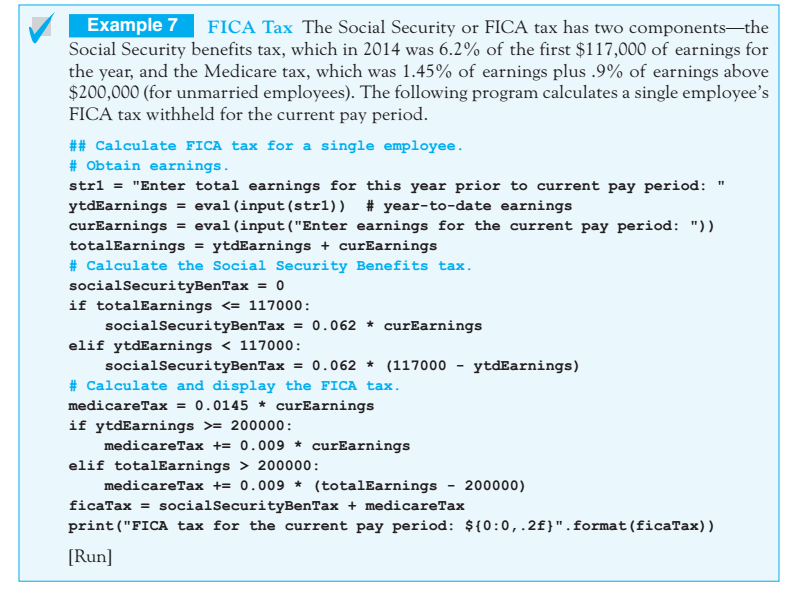 Solved: 31  FICA Taxes Rewrite Example 7 Of Section 3 2 Wi