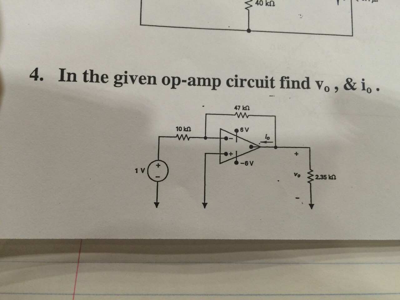 how to solve op amp circuits