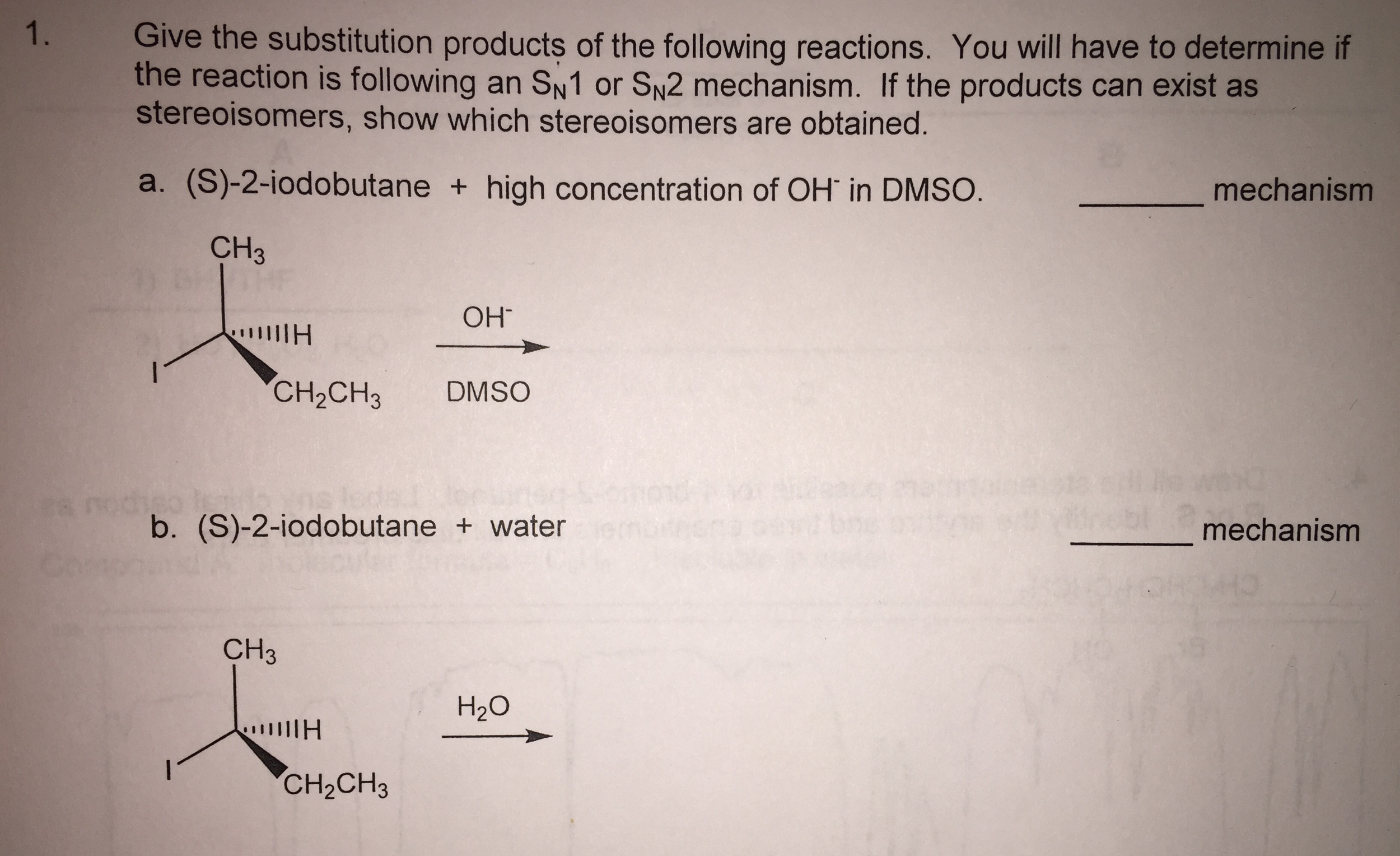 how to dtermine the order of reaction in polymer chemistry