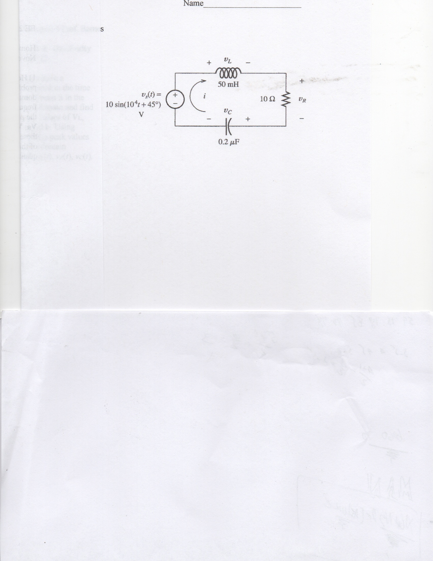 Draw Phasor Diagram Online Electrical Engineering Archive