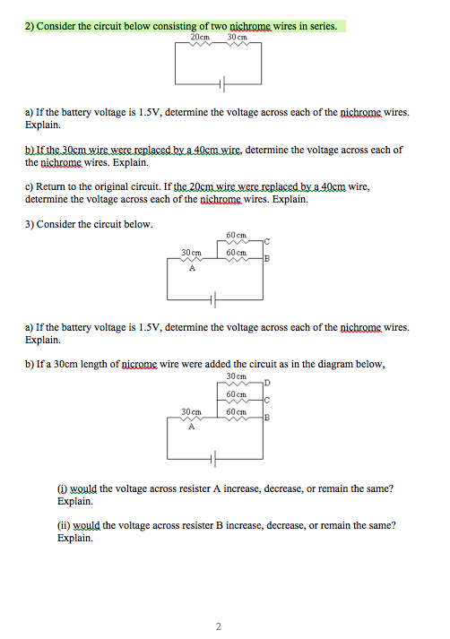 solved 2 consider the circuit below consisting of two ni rh chegg com