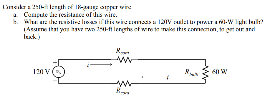 electrical resistance and wire How can the answer be improved.