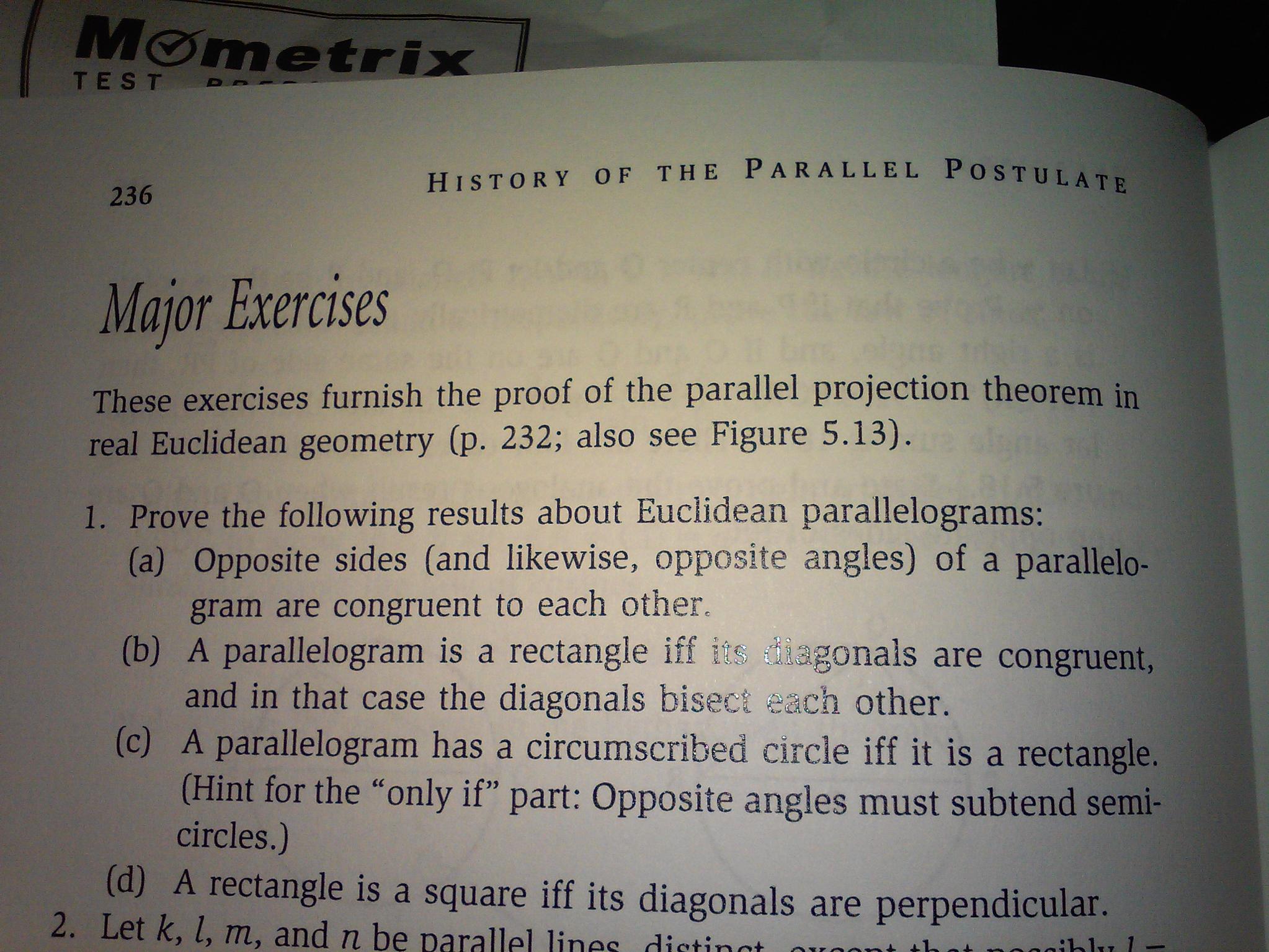Euclidean and Non-Euclidean Geometries 4th edition