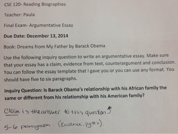 Barack Obamas Dreams From My Father Help Please  Cheggcom Question Barack Obamas Dreams From My Father Help Please I Really Need  To Finish This Essay As Soon As
