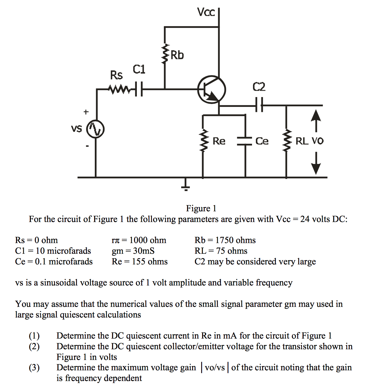 Solved There Is A Similar Quesiton On Chegg The Answer Figure 42 24 Vdc Power Supply Schematic Diagram For Circuit Of 1 Following Paramete