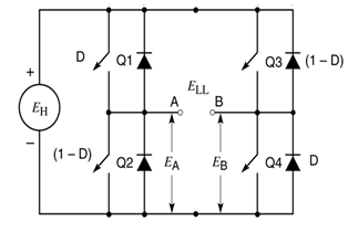 Solved: Design A Single Phase DC-AC Inverter With Pulse Wi