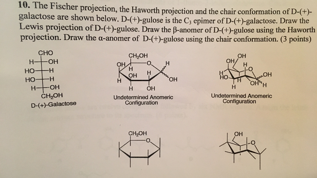 L Galactose Chair Chemistry Archi...