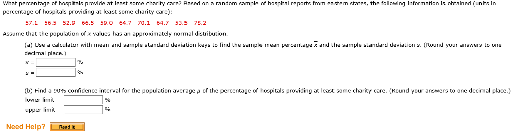 Solved: What Percentage Of Hospitals Provide At Least Some
