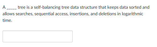 trees in data structure