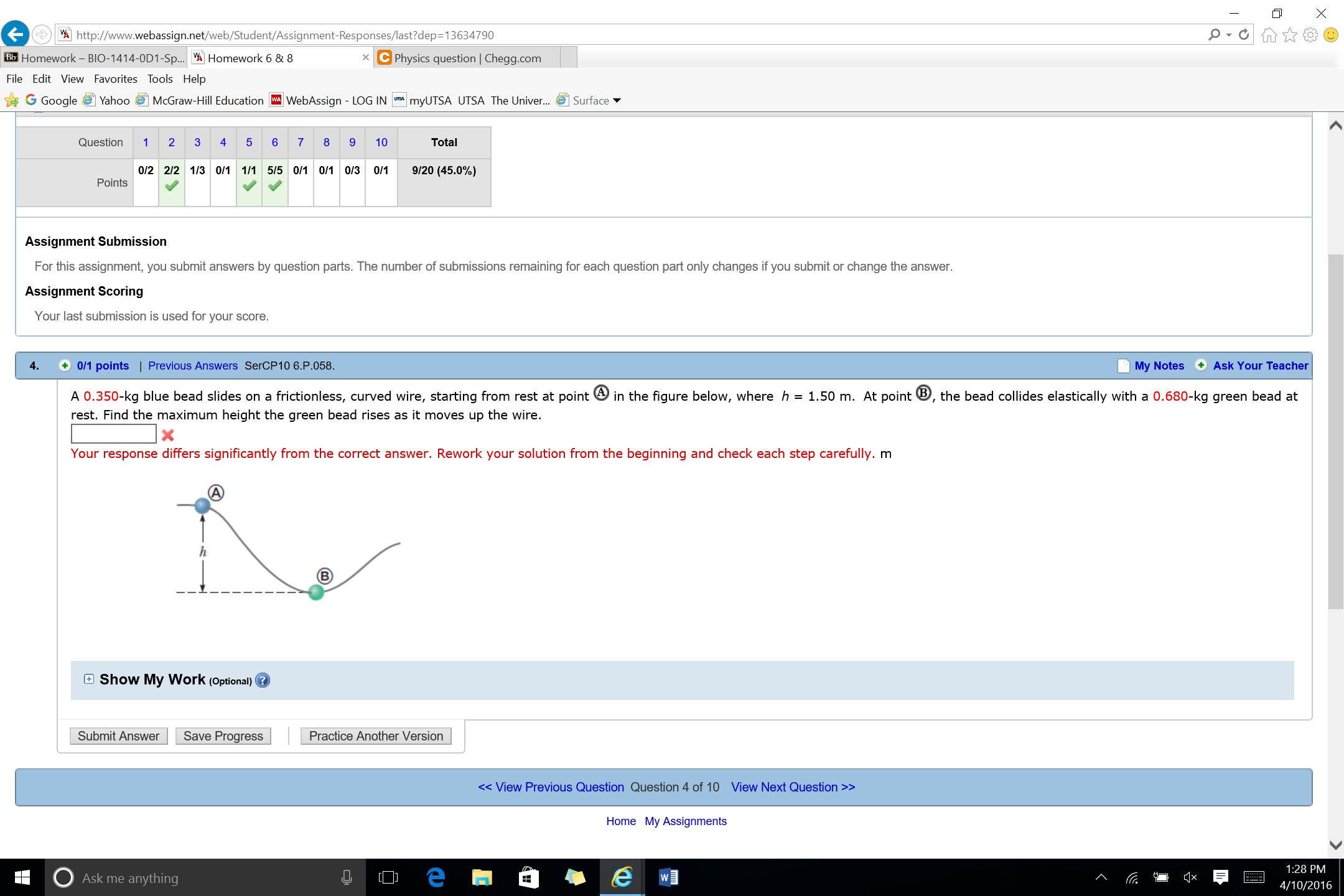 Solved: E>') 빗 Http://www webassign net/web/Student/Assig