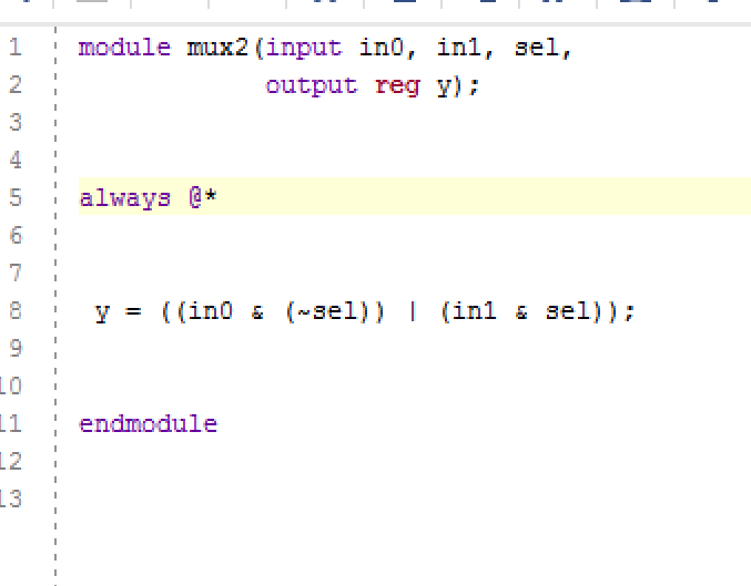 Solved: What Is The Verilog Code For Implementing A 2-to-1
