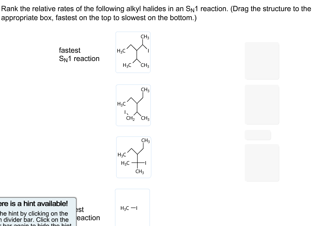 pre reactivity of alkyl halides Primary alkyl halides undergo sn2 mechanisms because (a) 1° substrates have  little  it is unlikely to form a 1° carbocation in an sn1 reaction.