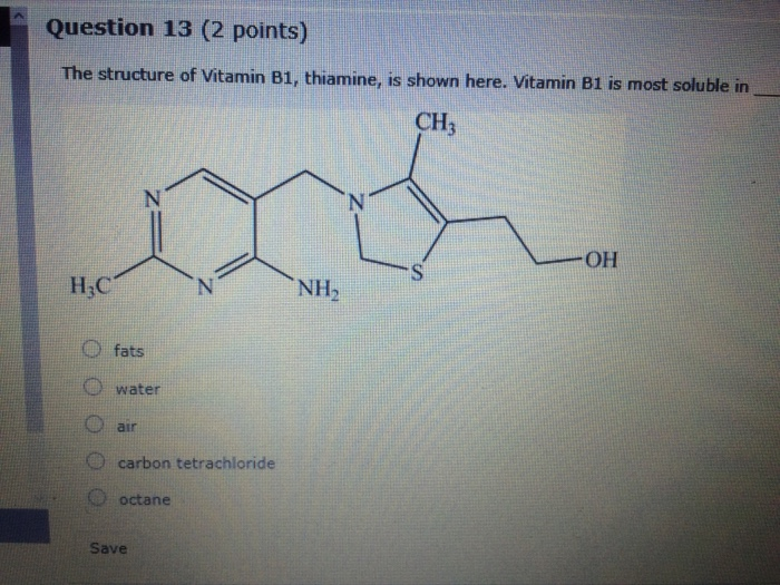 thiamine structure