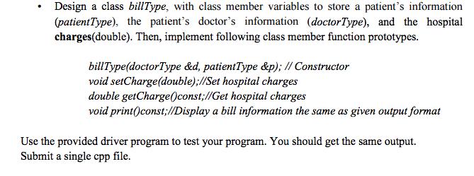 Solved: C++ PROGRAMMING CODE NEEDED IS BELOW: #include #in