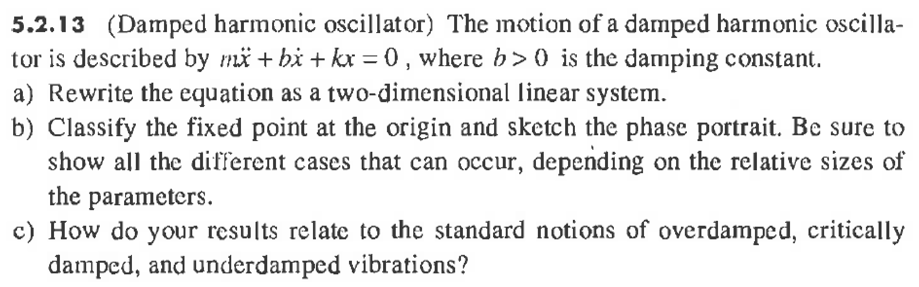 Reference: Nonlinear Dynamics and Chaos (Strogatz, Steven H.), Page 143