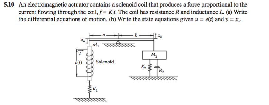 Solved: An Electromagnetic Actuator Contains A Solenoid Co ... on solenoid coil, solenoid valve, solenoid body diagram, solenoid connector, solenoid switch diagram, solenoid installation, solenoid parts, solenoid engine, solenoid assembly diagram, solenoid circuit, solenoid operation, solenoid wire, solenoid schematic, ford solenoid diagram, solenoid actuator, winch solenoid diagram, solenoid sensor, solenoid starter, starter diagram, solenoid relay,