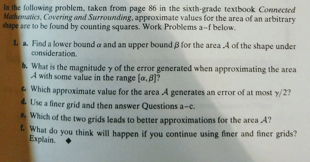 In The Following Problem, Taken From Page 86 In Th...   Chegg.com