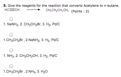 Solved Give The Reagents For The Reaction That Converts A