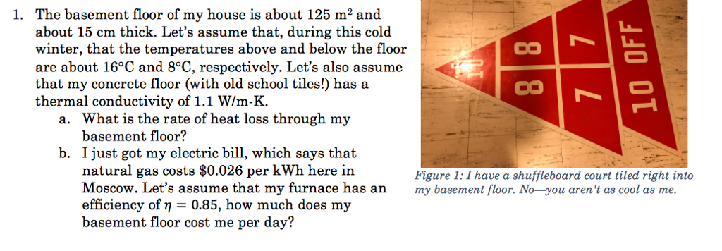 Solved The Basement Floor Of My House Is About 125 M2 And