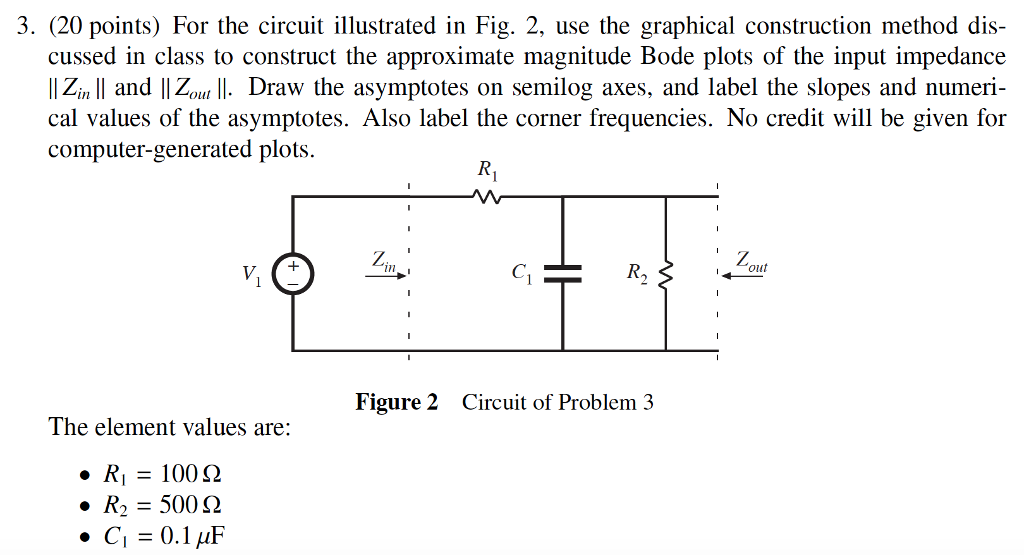 solved very confused would greatly appreciate if all stepvery confused would greatly appreciate if all steps were shown! thanks for any help in advance! 3 (20 points) for the circuit illustrated in fig 2, use