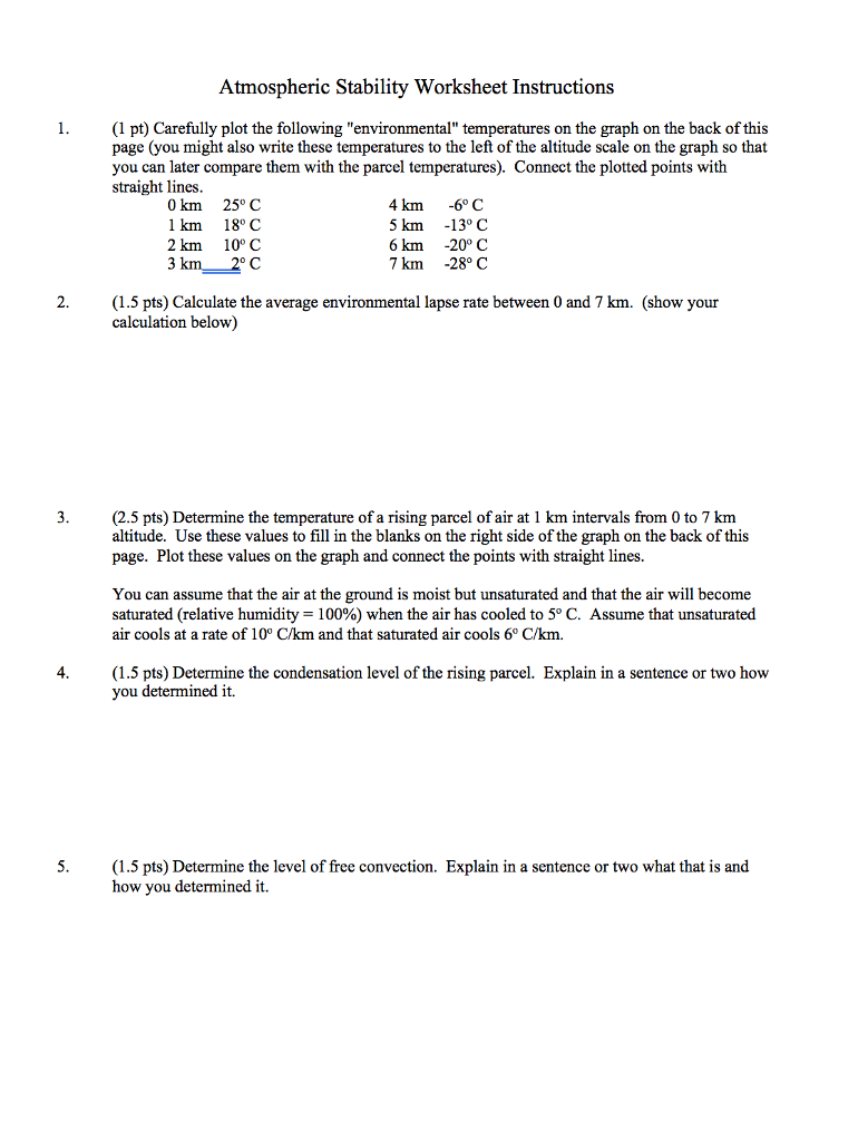 Relative Humidity Worksheet Answers - Nidecmege