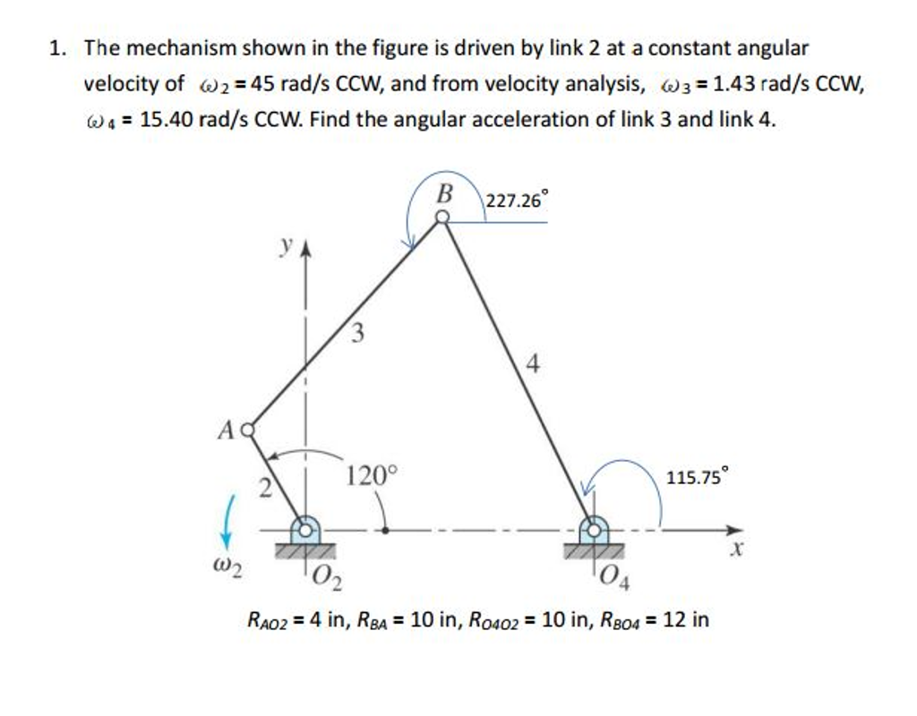 Mechanical engineering archive october 23 2016 chegg the mechanism shown in the figure is driven by lin biocorpaavc