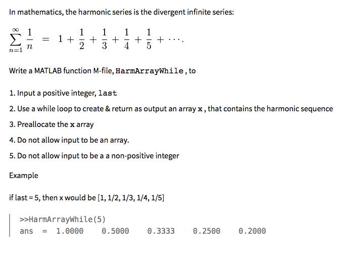 Harmonic progression   brilliant math & science wiki.