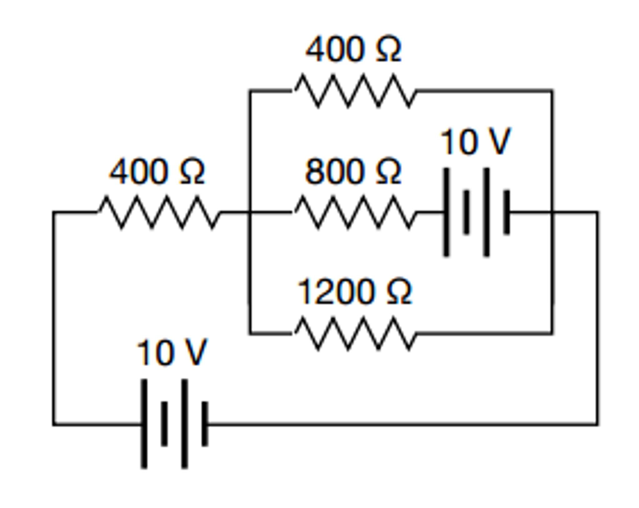 Marvelous Circuit With Multiple Batteries Basic Electronics Wiring Diagram Wiring 101 Tzicihahutechinfo