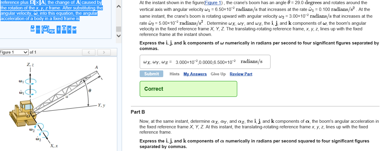 Solved: ONLY DO PART B!!!!!!! Part B Now, At The Same Inst ...