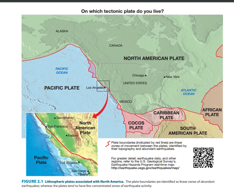 Chicago America Map.Solved On Which Tectonic Plate Do You Live Alaska North