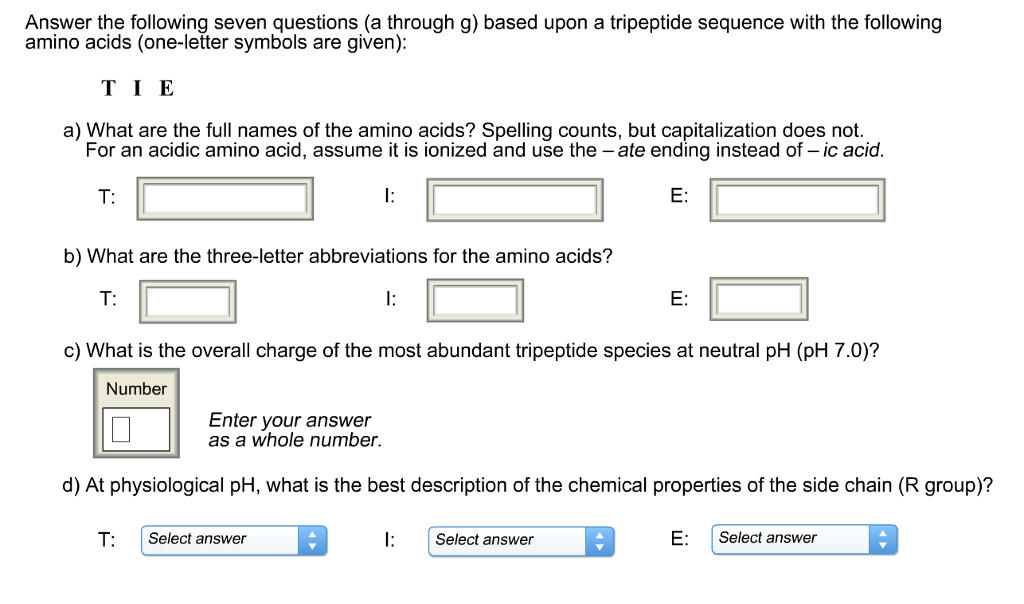Solved Answer The Following Seven Questions A Through G