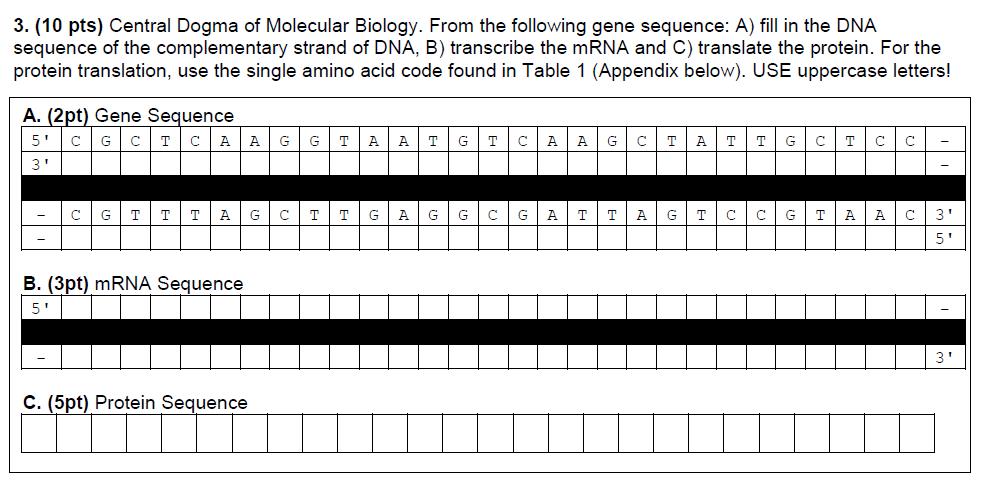 Biology Archive October 10 2017 Chegg
