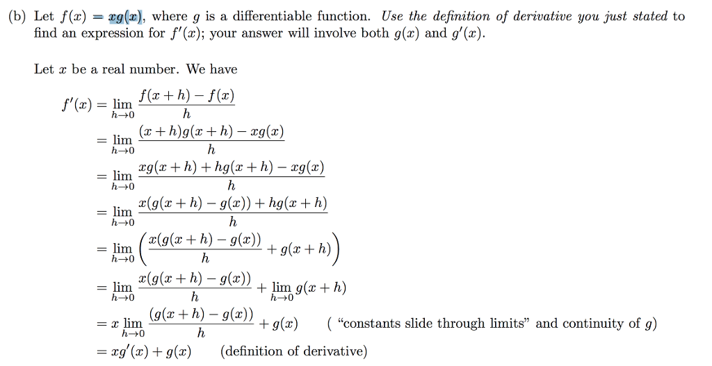 Solved Okay What Does It Mean In The Solution Constants