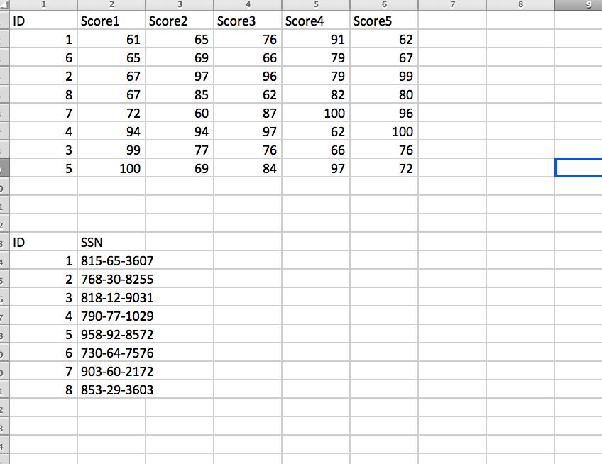VBA Question '1  Use The Score Data In Sheet1 (wsD